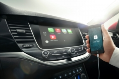 Met Apple Play of Android Auto navigeren